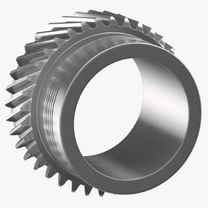 3D helical gear 02