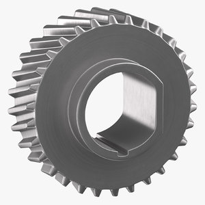 helical gear 03 3D model