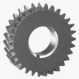 helical gear 04 3D model