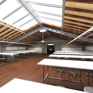 loft studio 3D model