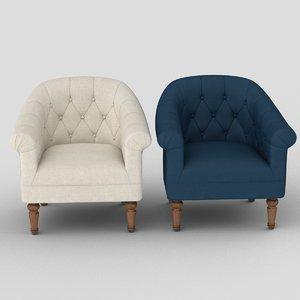 3D loredana chair