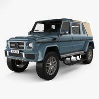 3D mercedes-benz g-class g model