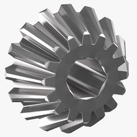 3D pinion bevel gear 01