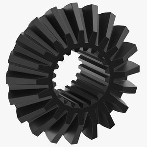 pinion bevel gear 02 3D model