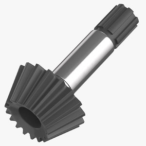 3D pinion bevel gear 03 model