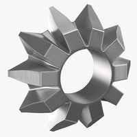 pinion bevel gear 06 3D model