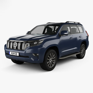 3D toyota prado land model