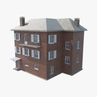 3D games townhouse