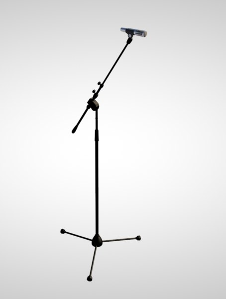 3D microphone stand mic