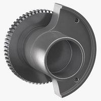 spur cam gear 3D