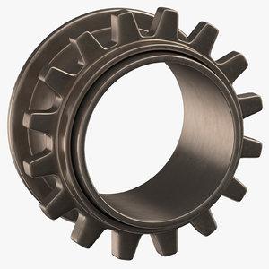 spur gear 3D model