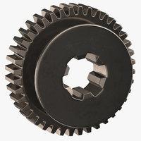 spur gear 04 3D model