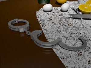 handcuffs hand cuffs model