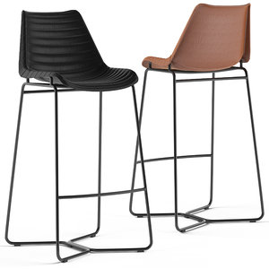 loftdesigne stool 4021 3D
