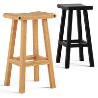 chair stool furniture 3D model