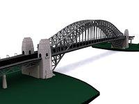 sydney bridge 3D