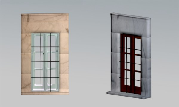 old window 3D