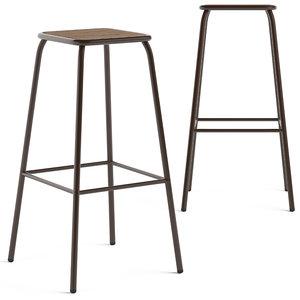 brooklyn stool 3D model