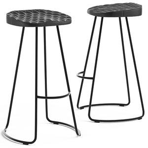 cult furniture niko stool 3D