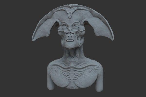3D nlo bust