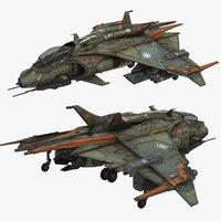 3D model super hornet
