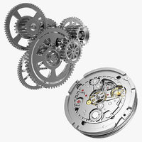 Clock Mechanisms Collection