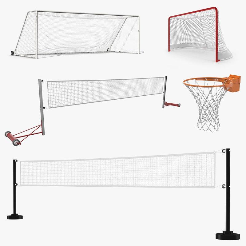 3D sport nets