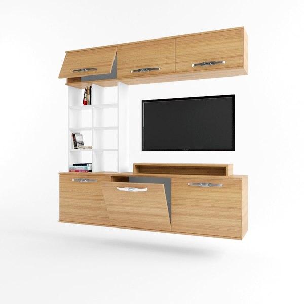 tv unit showcase model