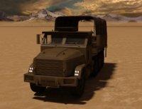 military truck 3D