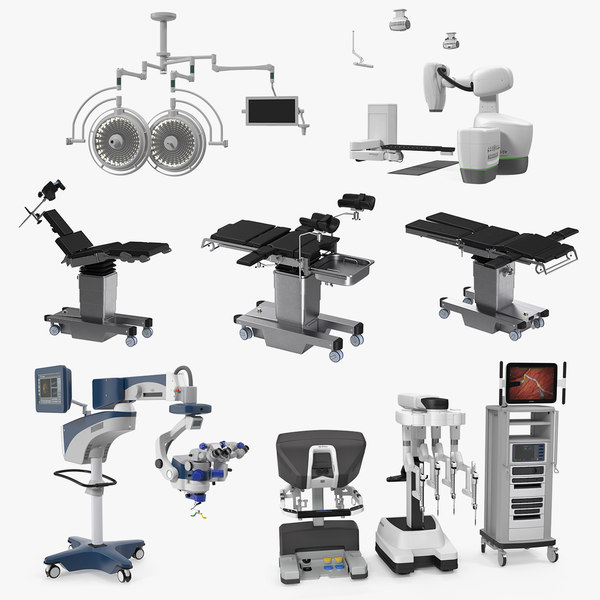 surgical equipment 3D