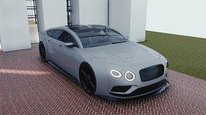car blender eevee brandless model
