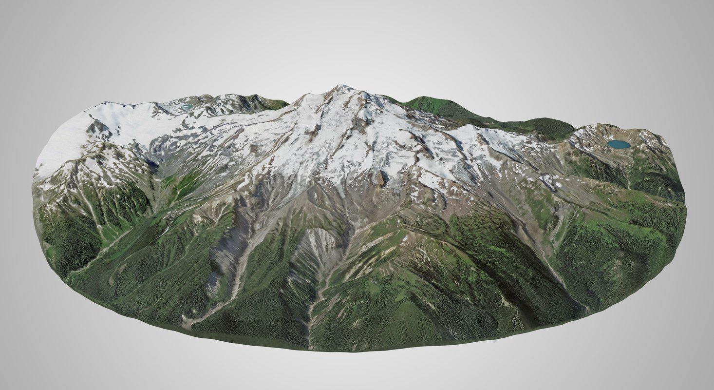 glacier peak model