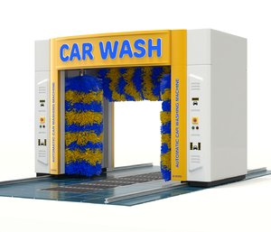 automatic auto car 3D model