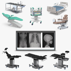 medical equipment 3 3D model