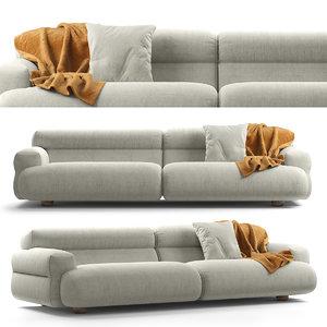 jardan valley sofa 4 3D model
