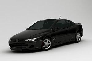 3D peugeot 406 coupe
