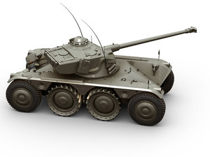 3D ebr panhard tank vehicles