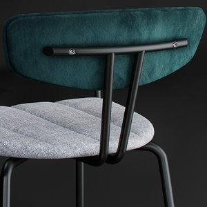 3D chair amy barstool model