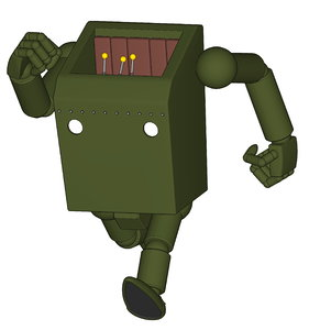 3D mech mecha robot