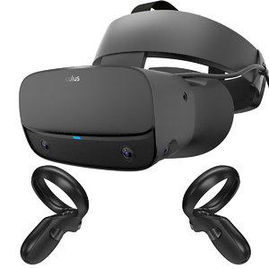 3D oculus rift s controllers model