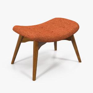 velvet stand seat model