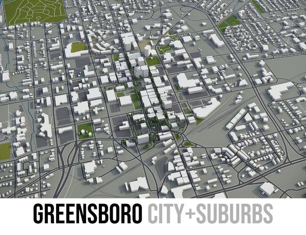 3D city greensboro