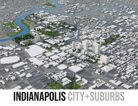 3D city indianapolis indiana
