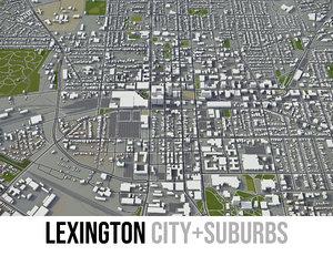 city lexington 3D