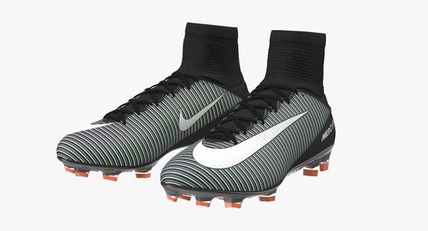 Schwarze Nike Mercurial Veloce Fussballschuhe
