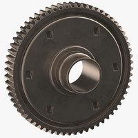 spur gear 05 model