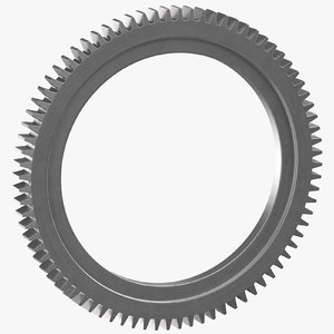 spur ring gear 01 3D model