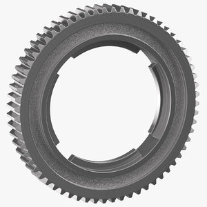 spur ring gear 02 3D model