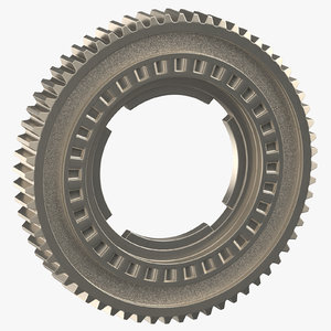 spur ring gear 04 3D