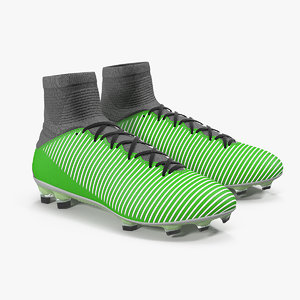football cleats generic 3D model